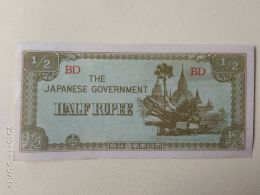 1/2 Rupee 1944 - Giappone