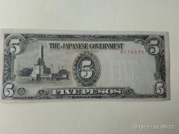 5 Pesos 1944 - Giappone