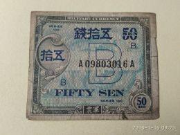50 Sen 1946 - Giappone