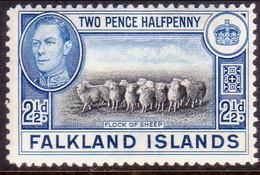 FALKLAND ISLANDS 1938 SG #151 2½d MNH Sheep - Falkland Islands