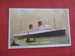 Mailed From Ireland  Cunard R.M.L. Mauretania ==== Ref 2806 - Paquebots