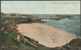 Porthminster Sands, St Ives, Cornwall, C.1905-10 - Valentine's Postcard - St.Ives