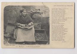 Les ENOISEUSES En PERIGORD - 1906 - Dordogne - Casseuse De Noix -  Périgord Noir - Animée - Agriculture