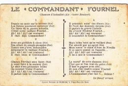 """Chanson D'actualité (air: Cadet Roussel) - Le """"Commandant"""" Fournel, Imposteur, Dole (39), Signé """"Le Bouif Errant - Musique Et Musiciens"""