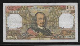 France 100 Francs Corneille - 5-7-1973 - Fayette N°65-43 - TB - 100 F 1964-1979 ''Corneille''
