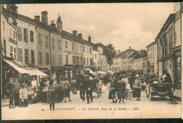 Le Marché. Rue De La Xavée - Remiremont