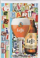 Verjaardagskaart   Leffe - Autres Collections