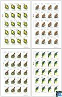 Sri Lanka Stamps 2017, Endemic Birds, Owl, Sheetlets - Sri Lanka (Ceylon) (1948-...)