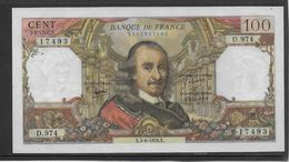 France 100 Francs Corneille - 3-6-1976 - Fayette N°65-53 - SUP - 1962-1997 ''Francs''