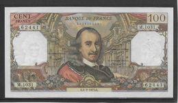 France 100 Francs Corneille - 4-2-1977 - Fayette N°65-56 - SPL - 1962-1997 ''Francs''