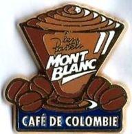 CAFE - C8 - MONT BLANC - Verso : ALCARA - Food