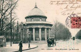PARIS ( 75 )  Parc Monceau - La Rotonde . - France