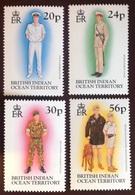 British Indian Ocean Territory BIOT 1996 Uniforms MNH - British Indian Ocean Territory (BIOT)