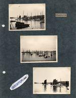 3 Photos  Authentiques -   DOUARNENEZ  -   Bateaux De Peche  . - Boats