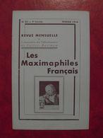 LES MAXIMAPHILES FRANÇAIS : REVUE MENSUELLE N°82 (1953) / ASSOCIATION DES COLLECTIONNEURS DE CARTES MAXIMUM (FRANCAIS) - Filatelie En Postgeschiedenis