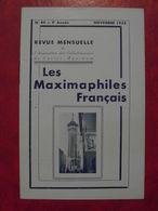 LES MAXIMAPHILES FRANÇAIS : REVUE MENSUELLE N°89 (1953) / ASSOCIATION DES COLLECTIONNEURS DE CARTES MAXIMUM (FRANCAIS) - Filatelie En Postgeschiedenis
