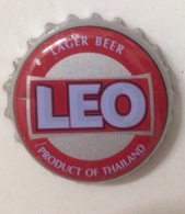 Thailand Used LEO Beer Bottle Crown Cap / Kronkorken / Capsule / Chapa / Tappi - Beer