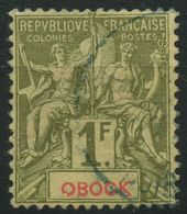 Obock (1892) N 44 (o) - Obock (1892-1899)