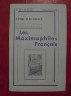 LES MAXIMAPHILES FRANÇAIS : REVUE MENSUELLE N°96 (1954) / ASSOCIATION DES COLLECTIONNEURS DE CARTES MAXIMUM (FRANCAIS) - Filatelie En Postgeschiedenis