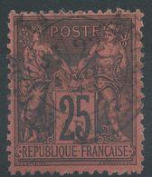 Lot N°39414  N°91, Oblit Cachet à Date De PARIS A Déchiffrer - 1876-1878 Sage (Type I)