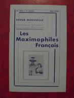 LES MAXIMAPHILES FRANÇAIS : REVUE MENSUELLE N°104 (1955) / ASSOCIATION DES COLLECTIONNEURS DE CARTES MAXIMUM (FRANCAIS) - Filatelie En Postgeschiedenis