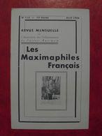 LES MAXIMAPHILES FRANÇAIS : REVUE MENSUELLE N°113 (1956) / ASSOCIATION DES COLLECTIONNEURS DE CARTES MAXIMUM (FRANCAIS) - Filatelie En Postgeschiedenis