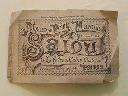 2 Albums De La Maison Sajou, Au Point De Marque Et Dessins De Broderies - Abécédaire - Documentos Antiguos