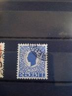 Danish West Indies DWI 1905 25c Blue Used SG 54 Sc 34 Mi 32 - Denmark (West Indies)