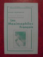 LES MAXIMAPHILES FRANÇAIS : REVUE MENSUELLE N°118 (1956) / ASSOCIATION DES COLLECTIONNEURS DE CARTES MAXIMUM (FRANCAIS) - Filatelie En Postgeschiedenis
