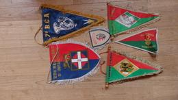 Lot De 6 Fanions Legion Et Chasseurs Alpins - Flags