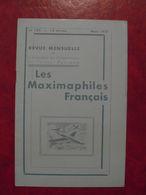 LES MAXIMAPHILES FRANÇAIS : REVUE MENSUELLE N°122 (1957) / ASSOCIATION DES COLLECTIONNEURS DE CARTES MAXIMUM (FRANCAIS) - Filatelie En Postgeschiedenis