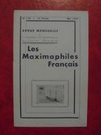 LES MAXIMAPHILES FRANÇAIS : REVUE MENSUELLE N°124 (1957) / ASSOCIATION DES COLLECTIONNEURS DE CARTES MAXIMUM (FRANCAIS) - Filatelie En Postgeschiedenis