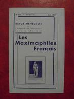 LES MAXIMAPHILES FRANÇAIS : REVUE MENSUELLE N°125 (1957) / ASSOCIATION DES COLLECTIONNEURS DE CARTES MAXIMUM (FRANCAIS) - Filatelie En Postgeschiedenis