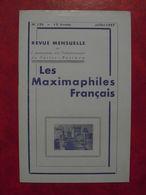 LES MAXIMAPHILES FRANÇAIS : REVUE MENSUELLE N°126 (1957) / ASSOCIATION DES COLLECTIONNEURS DE CARTES MAXIMUM (FRANCAIS) - Filatelie En Postgeschiedenis