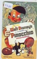 Télécarte DISNEY Japon (110-192373) PINOCCHIO  (5260) * JAPAN PHONECARD *  CINEMA FILM MOVIE KINO - Disney