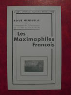 LES MAXIMAPHILES FRANÇAIS : REVUE MENSUELLE N°137 (1958) / ASSOCIATION DES COLLECTIONNEURS DE CARTES MAXIMUM (FRANCAIS) - Filatelie En Postgeschiedenis