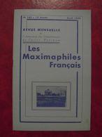 LES MAXIMAPHILES FRANÇAIS : REVUE MENSUELLE N°143 (1959) / ASSOCIATION DES COLLECTIONNEURS DE CARTES MAXIMUM (FRANCAIS) - Filatelie En Postgeschiedenis
