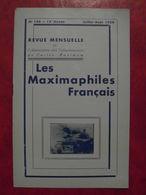 LES MAXIMAPHILES FRANÇAIS : REVUE MENSUELLE N°146 (1959) / ASSOCIATION DES COLLECTIONNEURS DE CARTES MAXIMUM (FRANCAIS) - Filatelie En Postgeschiedenis