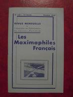 LES MAXIMAPHILES FRANÇAIS : REVUE MENSUELLE N°148 (1959) / ASSOCIATION DES COLLECTIONNEURS DE CARTES MAXIMUM (FRANCAIS) - Filatelie En Postgeschiedenis