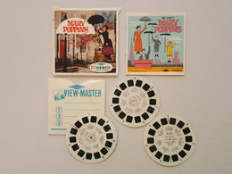 Mary Poppins - View Master - 1964 Walt Disney Productions - Stereoscopes - Side-by-side Viewers