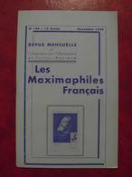LES MAXIMAPHILES FRANÇAIS : REVUE MENSUELLE N°149 (1959) / ASSOCIATION DES COLLECTIONNEURS DE CARTES MAXIMUM (FRANCAIS) - Filatelie En Postgeschiedenis