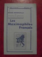 LES MAXIMAPHILES FRANÇAIS : REVUE MENSUELLE N°150 (1959) / ASSOCIATION DES COLLECTIONNEURS DE CARTES MAXIMUM (FRANCAIS) - Filatelie En Postgeschiedenis