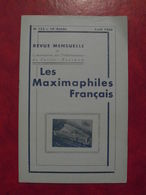 LES MAXIMAPHILES FRANÇAIS : REVUE MENSUELLE N°153 (1960) / ASSOCIATION DES COLLECTIONNEURS DE CARTES MAXIMUM (FRANCAIS) - Filatelie En Postgeschiedenis