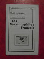 LES MAXIMAPHILES FRANÇAIS : REVUE MENSUELLE N°172 (1962) / ASSOCIATION DES COLLECTIONNEURS DE CARTES MAXIMUM (FRANCAIS) - Filatelie En Postgeschiedenis