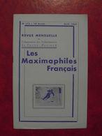 LES MAXIMAPHILES FRANÇAIS : REVUE MENSUELLE N°173 (1962) / ASSOCIATION DES COLLECTIONNEURS DE CARTES MAXIMUM (FRANCAIS) - Filatelie En Postgeschiedenis