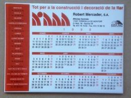 CALENDRIER 1999 SUR CARRELAGE ET BRIQUE  - 20 X 15 X 0,5 Cm - Zonder Classificatie