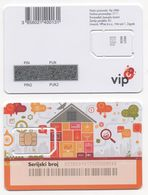 Croatia, VIP Mint SIM Card, Producer Gemalto GmbH - Croatia