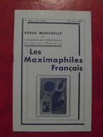 LES MAXIMAPHILES FRANÇAIS : REVUE MENSUELLE N°302 (1975) / ASSOCIATION DES COLLECTIONNEURS DE CARTES MAXIMUM (FRANCAIS) - Filatelie En Postgeschiedenis