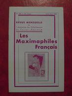 LES MAXIMAPHILES FRANÇAIS : REVUE MENSUELLE N°304 (1975) / ASSOCIATION DES COLLECTIONNEURS DE CARTES MAXIMUM (FRANCAIS) - Filatelie En Postgeschiedenis