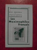 LES MAXIMAPHILES FRANÇAIS : REVUE MENSUELLE N°305 (1975) / ASSOCIATION DES COLLECTIONNEURS DE CARTES MAXIMUM (FRANCAIS) - Filatelie En Postgeschiedenis